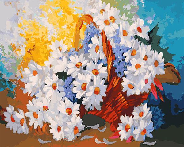 Купить картины-раскраски по номерам на холсте в интернет ...